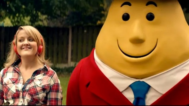 Mr. Tayto's Live Action Debut for Lorcan Finnegan